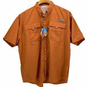 Columbia PFG Omni Shade Bahama Shirt Coral XL